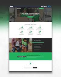 Web Design Helper Design Of The Day Moving Service Website Design Concept By