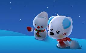 Animatedcartoondesktopwallpaper Cute Cartoon Puppy