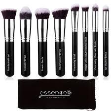 premium synthetic kabuki cosmetic makeup brush set