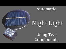 Automatic Night Light (<b>Street Light</b>) Using 6v <b>Solar</b> Panel With ...