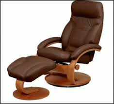 office reclining chair. Leather Reclining Office Chair With Footrest