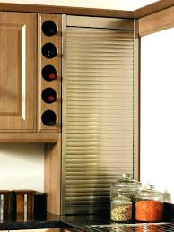 shutter kitchen cabinets frosted glass