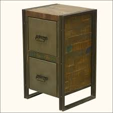 Reclaimed Wood Wine Cabinet Industrial Fusion Reclaimed Wood Amp Iron End Table Throughout