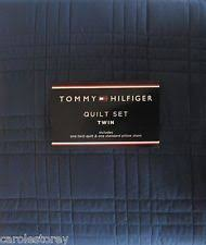 Navy Quilted Coverlet: Quilts and bedspreads ebay. & ... Navy Quilted Coverlet : Tommy hilfiger quot solid navy blue twin quilt  sham set ... Adamdwight.com