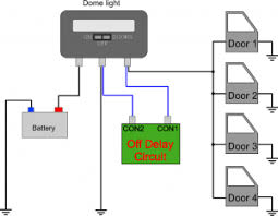 car dome light off delay Tractor Warning Light Wiring Diagrams Courtesy Light Wiring Diagram #25