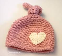 Crochet Newborn Hat Pattern Interesting Crochet Newborn Knot Hat Pattern Repeat Crafter Me