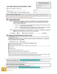 Request For Leave Form – Afscme Members Only