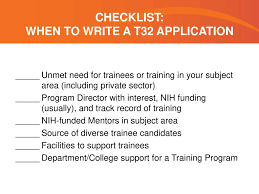Workshop On Training Grant Applications March 11 Ppt Download