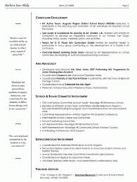 Template Teachers Resume Examples Art Template Visual Arts Teac