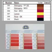 Dmc assigned floss color numbers to rgb values conversion chart. Make Your Own Dmc Color Chart All About Diamond Painting