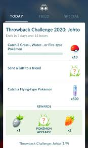 Pokémon GO Throwback Challenge 2020: Johto Timed Research now live until  May 15 at 1 p.m. local time: