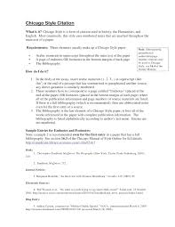 chicago style chicago style citation what is it chicago style is a form of citation used in