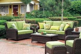 decoration Wicker furniture cushions gecalsa