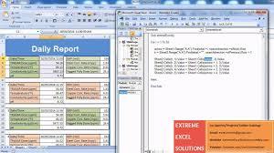 Advanced Excel Video Tutorial Generating Reports Using Macros
