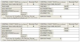 Meru Cab Receipt Template Taxi Receipt Templates Doc Free Premium