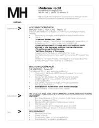 Public Relations Resume Examples Resume For Study