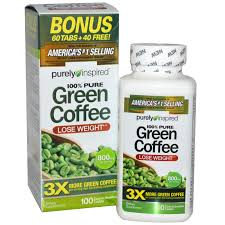 Purely Inspired 100 Pure Green Coffee Nutrition Depot