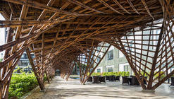 What is a pavilion Architecture Vinata Bamboo Pavilion Vtn Architects Archdaily Pavillion Architecture And Design Archdaily