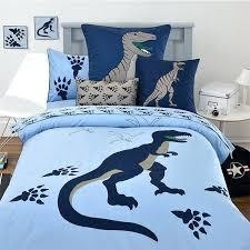 dinosaur bedding queen children cartoon embroidered blue dinosaur 3 bedding set twin full queen size without