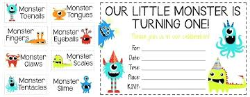 Lil Monster Birthday Invitations New Cookie Monster Birthday Party Invitations Untitled Pro