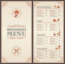 breakfast menu template menu restaurant menu template