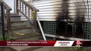 needham police investigating synagogue fire as potential crime news needham times needham ma