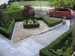 Small Picture Front Garden design ideas with drivesway using fence Furniture