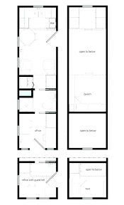 tiny house plans for family home designs blueprints floor design small and