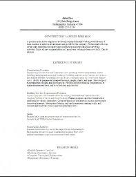 Tradesman Resume Template Tradesman Resume Template Lovely Skilled ...