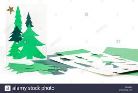 christmas card stencils christmas tree cut out paper stock photos christmas tree cut out