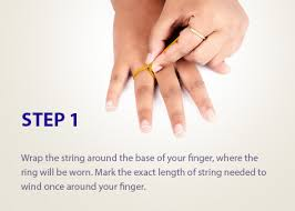 Size Chart For Rings In India Jos Alukkas Jewellery Alukkas Jewellery Alukkas Gold