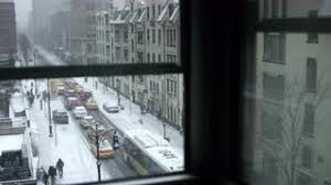 city window from outside. Brilliant From Window View Snow Falling  Snowing Outside With Building Across Street In  NYC 4K Stock Video Footage Videoblocks With City Window From Outside
