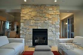 stone veneer for fireplace caramel diy surround st