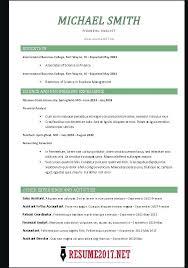 Resume Format 2017 Stunning 394 Resumes For 24 Chronological Resumes Common Resume Format Resume