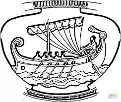 Small Picture ancient greek vase coloring page Aquadisocom