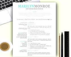 Professional Modern Resume Templates Free For Mac Resume Example ...