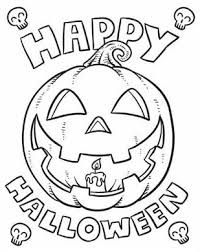 Small Picture Happy Halloween Coloring Page Hallowen Coloring pages of