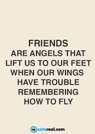 Angel Quotes Interesting 48 Quotes About Friendship CrowdifyClub Positive And