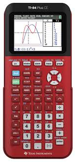 How To Make A Pie Chart On Ti 84 Plus Texas Instruments Ti 84 Plus Ce Radical Red Graphing