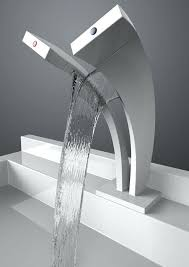 waterfall spout dual stream waterfall faucet hot and cold water flows are separated waterfall spout bathroom