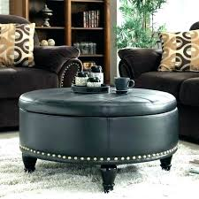 brown leather ottoman coffee table round brown leather ottoman ottoman coffee table large leather ottoman coffee