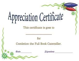 Best Certificate Templates 37 Best Certificate Of Appreciation Templates Images On Pinterest