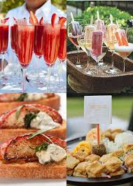 Beach Theme Wedding Reception Foods