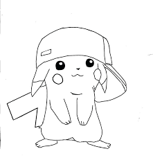 pikachu coloring pages free printable coloring pages for kids pokemon pikachu coloring pages