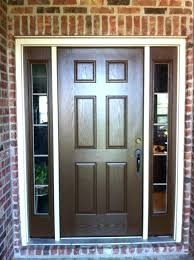 paint door to look like wood painting a front door with sidelights faux paint look like paint door to look like wood thrifty transformation how