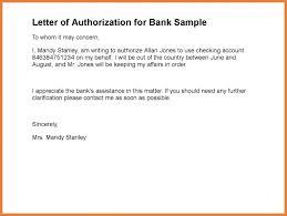 Authorization Letter Sample Sop Proposal
