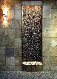 wall fountain indoor diy slate