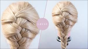 体育祭での髪型編み込みのやり方を解説崩れない簡単な方法は