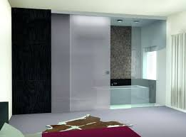 modern glass doors white frosted glass sliding shower doors for modern bathroom ideas with grey floor modern glass doors