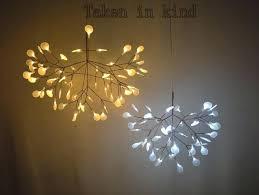 tree lamp small leaves led pendant lamp tree branch chandelier light twigs suspension lighting pendant light